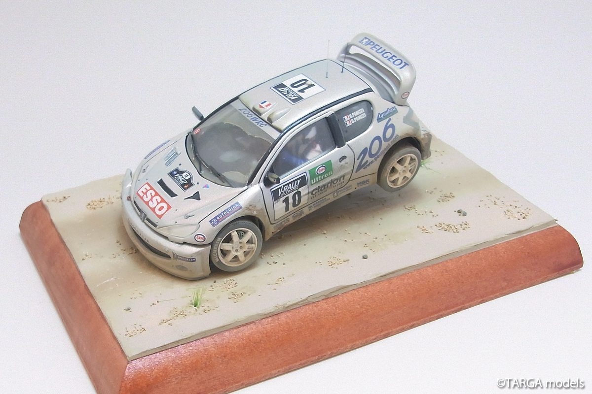 Peugeot 206 2000 (diorama)