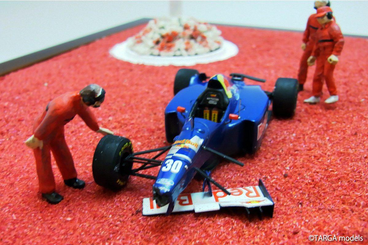 Sauber C14 1995 Monaco GP (diorama)