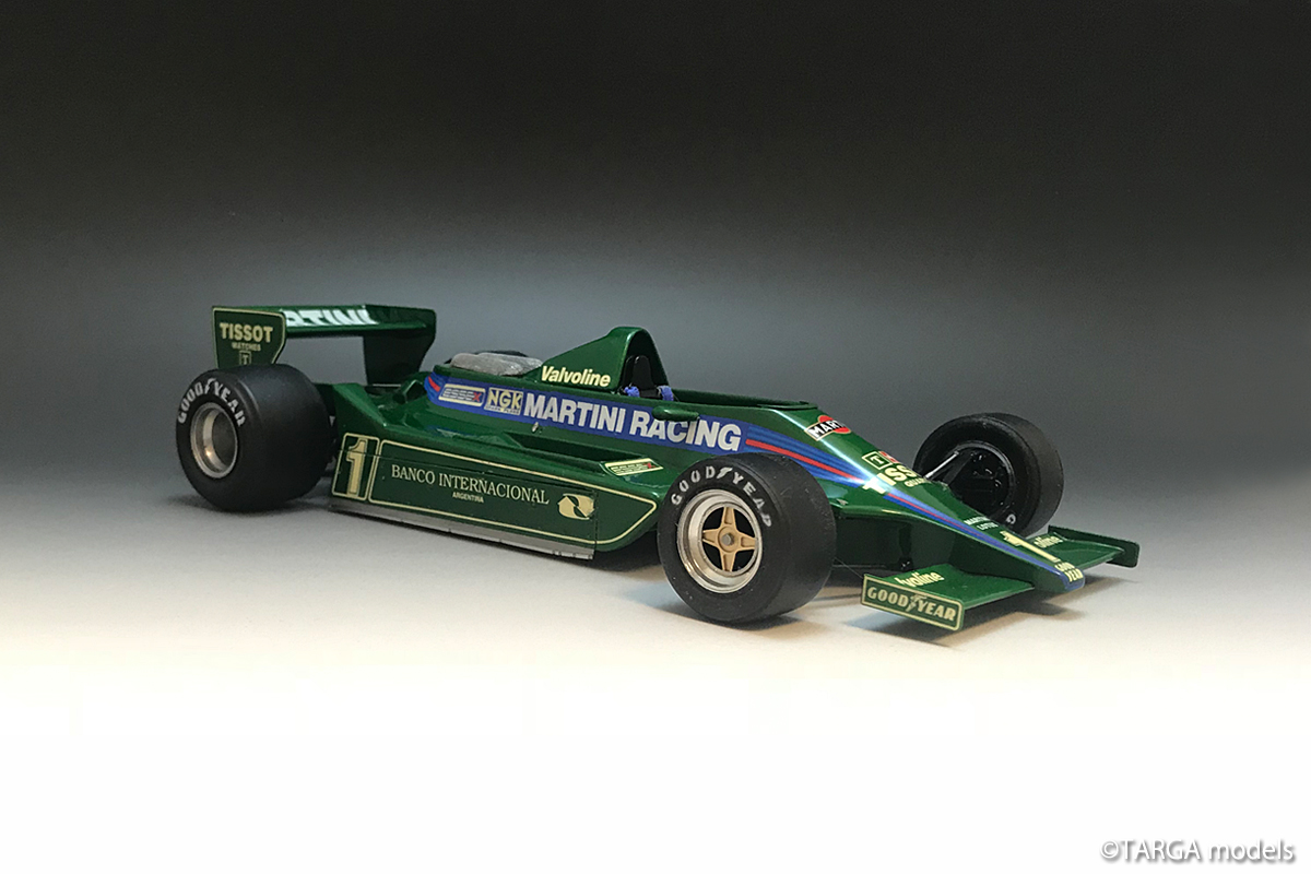 Lotus 79B F1 1979 #1 Mario Andretti