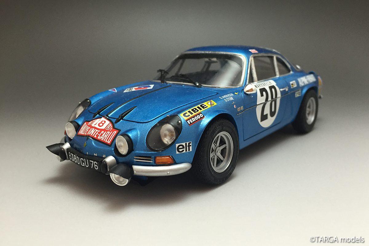 Alpine A110 WRC 1971 Monte-Carlo