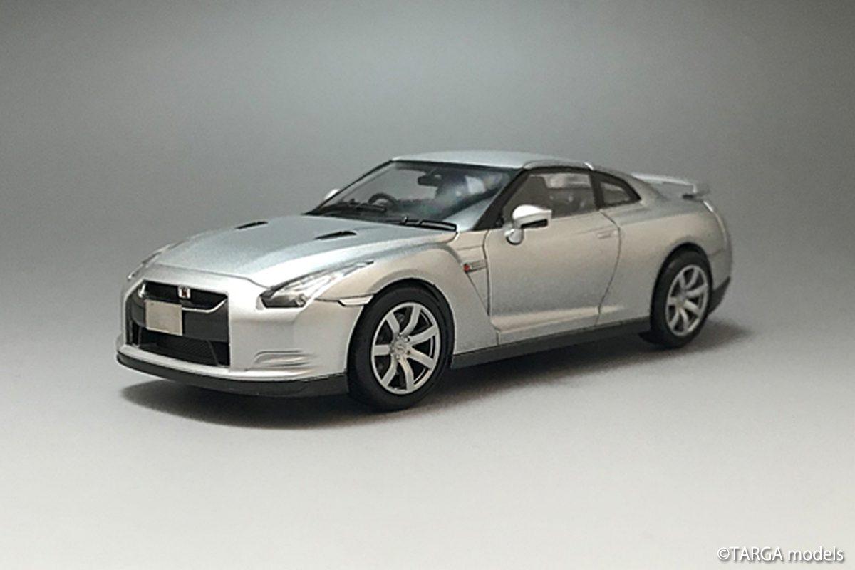 Nissan GT-R(R35) Mica Silver ver.